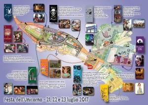 Mappa Festa dell'Unicorno