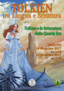 Locandina convegno di Trento - Tolkien e la letteratura della Quarta Era