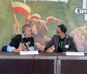 Thomas Honegger e Roberto Arduini - Lucca Comics and Games 2017