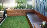 Engineered Sleeper Retaining Walls - Garden Planter Boxes ...