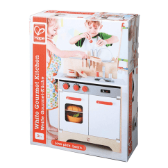 Hape Kitchen Modern Curtains White Gourmet By Jr Toy Company