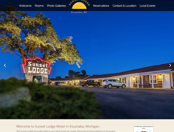 Sunset Lodge Motel Escanaba, MI