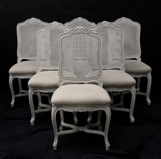 cane chairs new zealand beauty salon john stephens louis xiv style backed dining 102 34