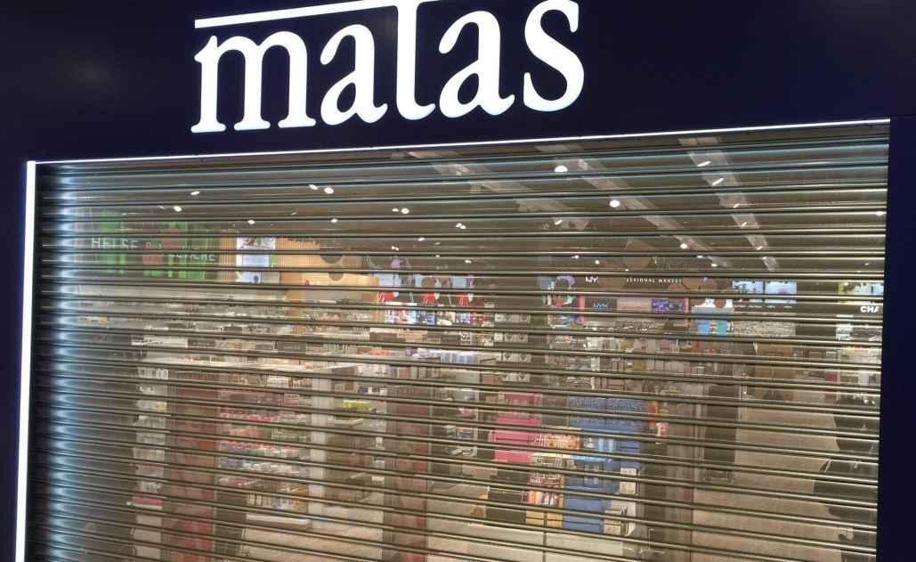 butikskæder Rullegitter Tyverisikring Matas-rullejalousi