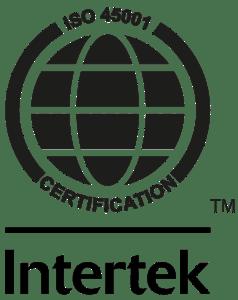 Tyveri- og brandsikring certifikat ISO-45001-TM