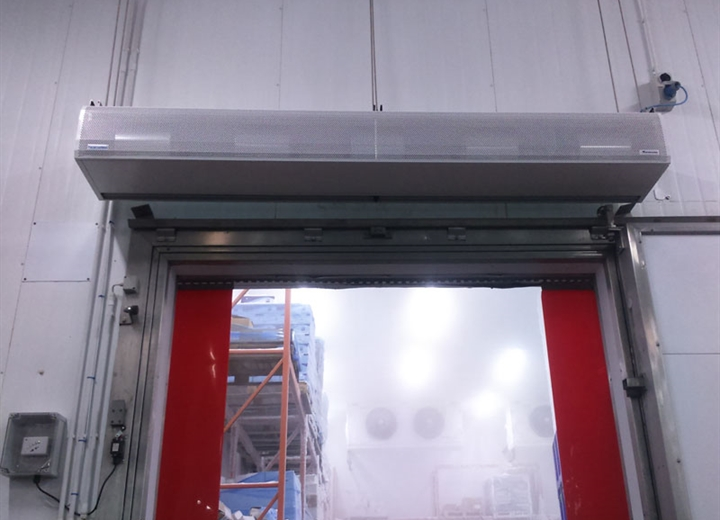kool cold store air curtain