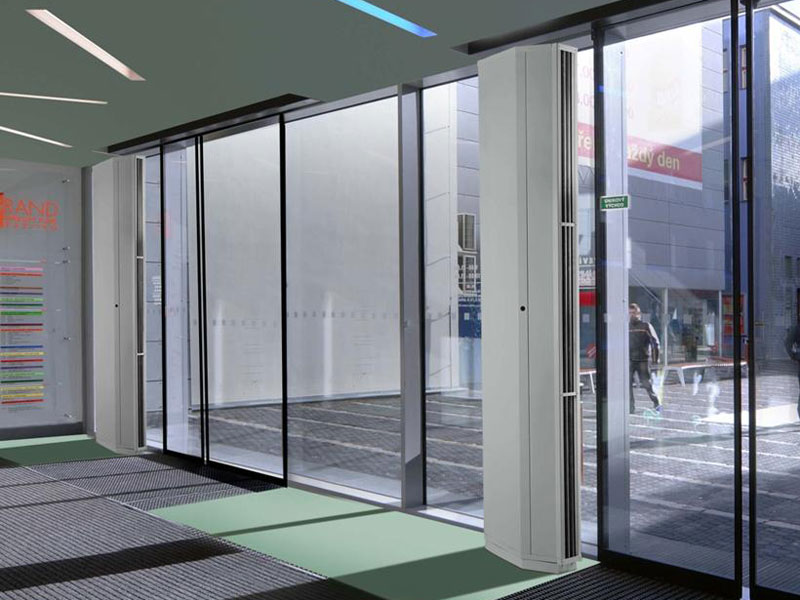 New Quiet Vertical Air Curtain