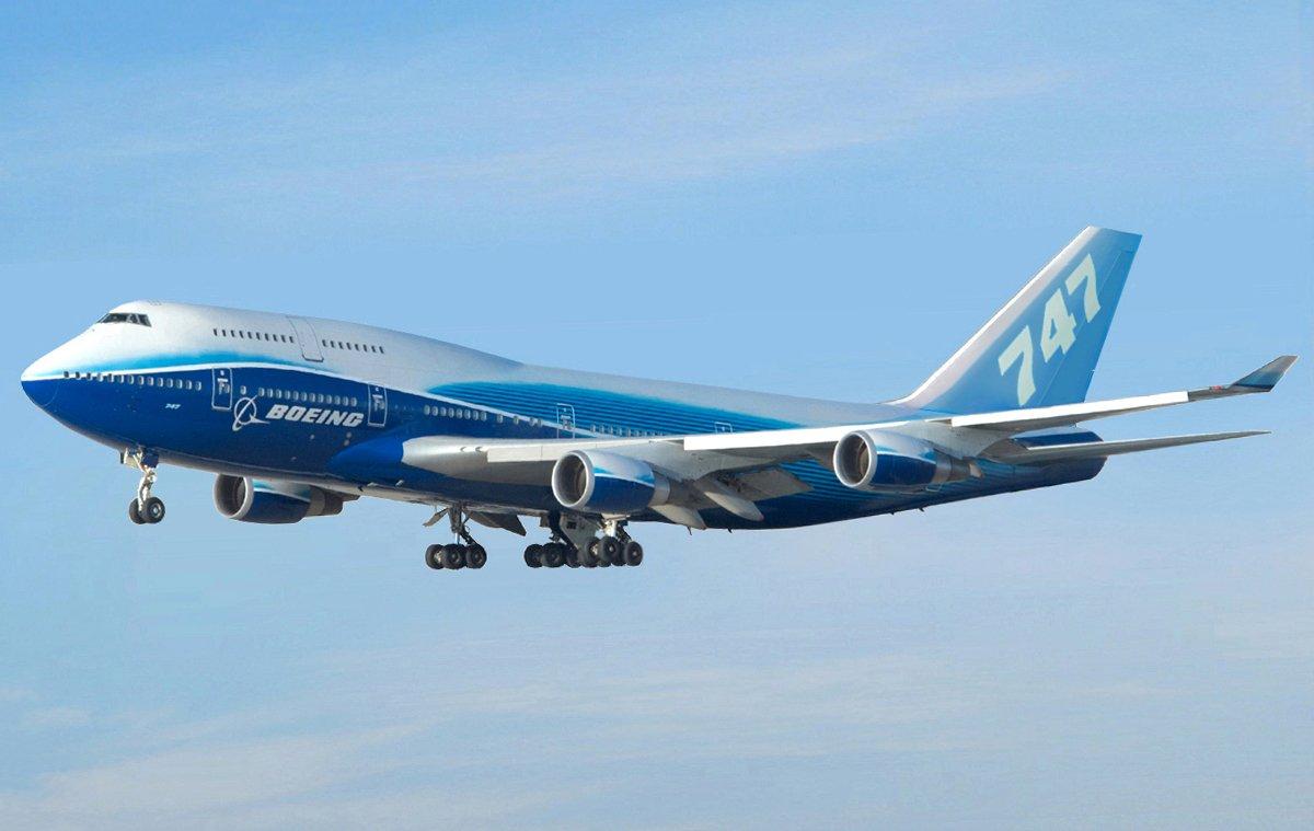 Un Boeing 747 Priv 233