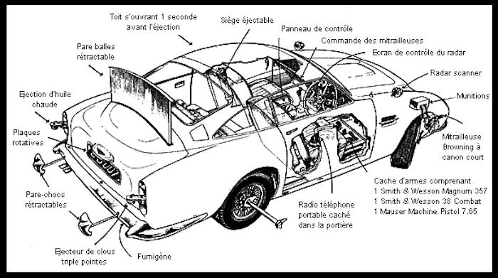 Aston Martin va fabriquer 25 exemplaires de la DB5 de