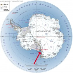 Location of McMurdo Dry Valleys
