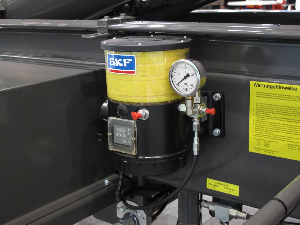 hight resolution of  lubrication management systems