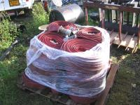 ANGUS DURALINE LAY FLAT FIRE HOSE, 3 INCH COUPLINGS for ...
