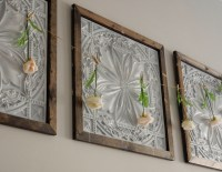 Faux Tin Panel Wall Art DIY - Jones Sweet Homes