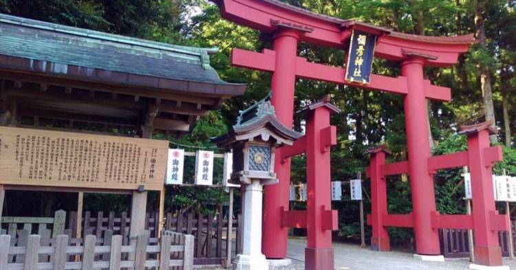 日本新潟 彌彥神社,新潟第一靈驗地,百年檜木鳥居堪稱全日本之最