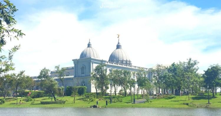 台南仁德|奇美博物館,收藏即是藝術在奇美館內仰望柔美氣息
