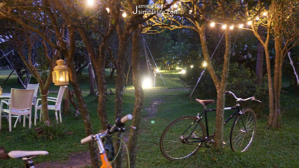 橘舍三食 夜晚園區亮燈 | 苗栗卓蘭