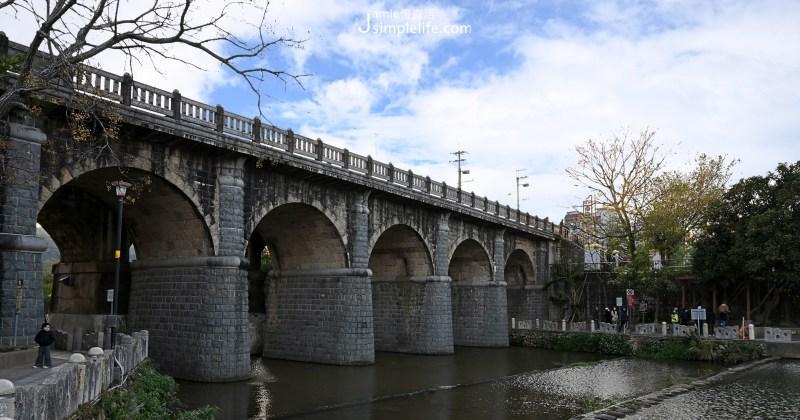 台灣自行車小鎮:新竹關西鎮漫遊「牛欄河親水公園」、「東安古橋」,電影拍攝場景