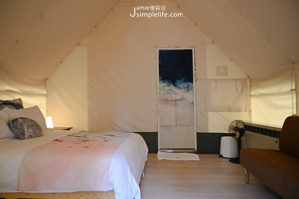台中向海那漾豪華露營區 30頂豪華露營帳篷 二人帳棚房型