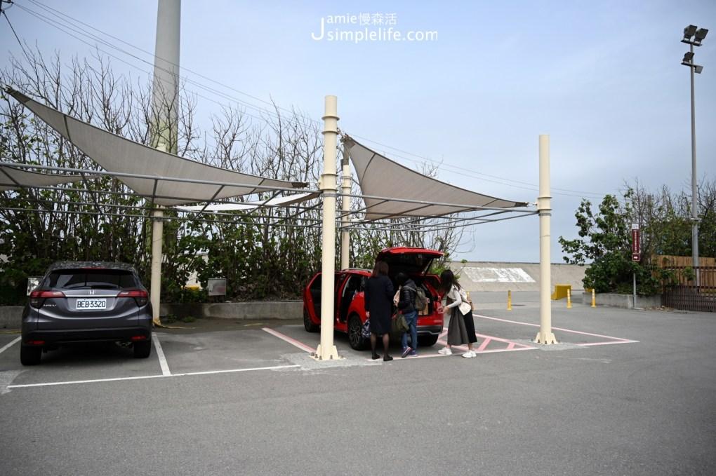 台中向海那漾豪華露營區交通方式 停車場