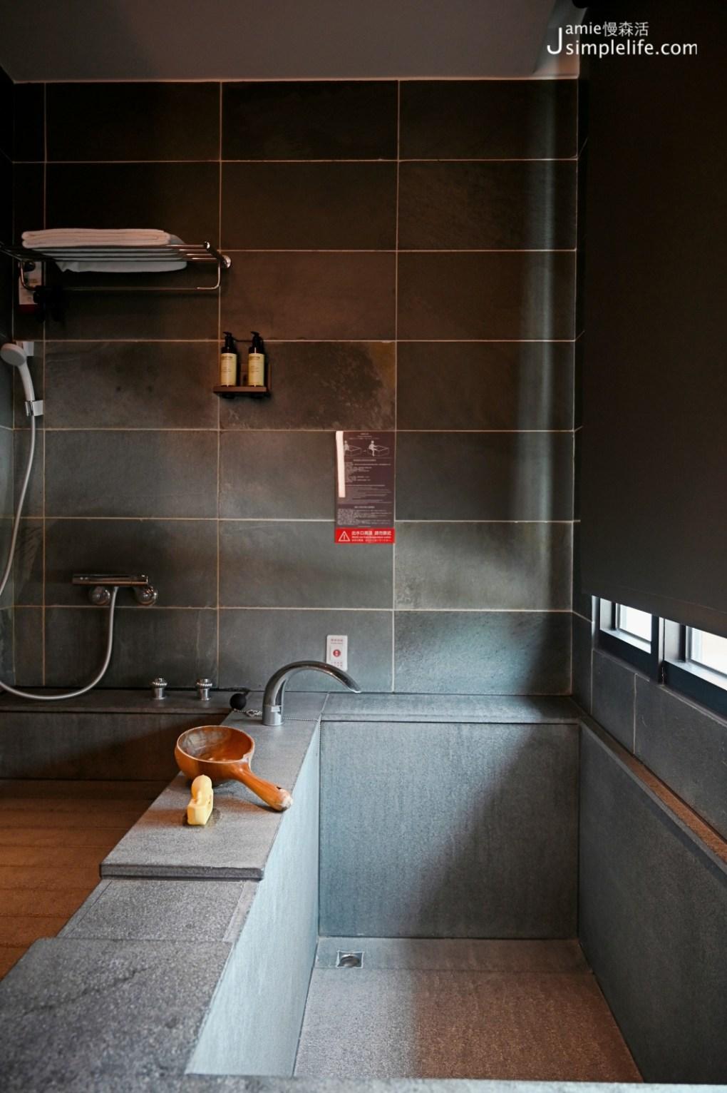 有吃也有住宿「大東北角」全都包 宜蘭礁溪兆品酒店浴室