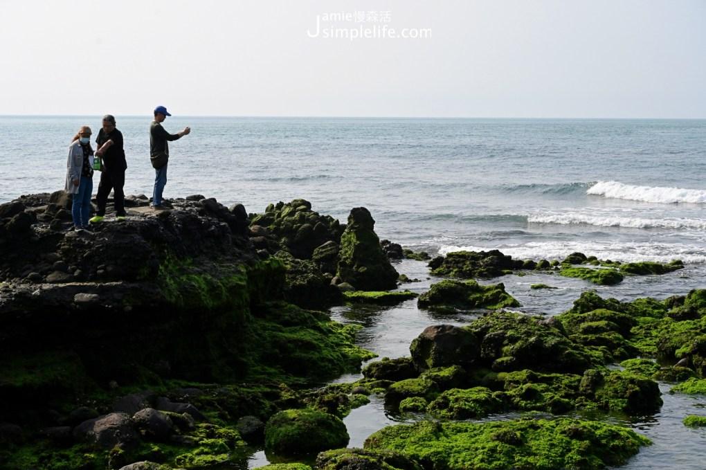 新北石門區 石門洞看海