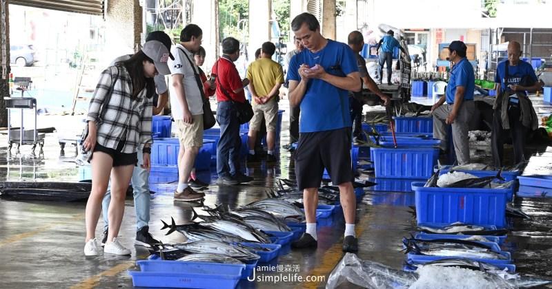 東部海岸最大!旗魚、海產漁獲當天新鮮供應「新港漁港」