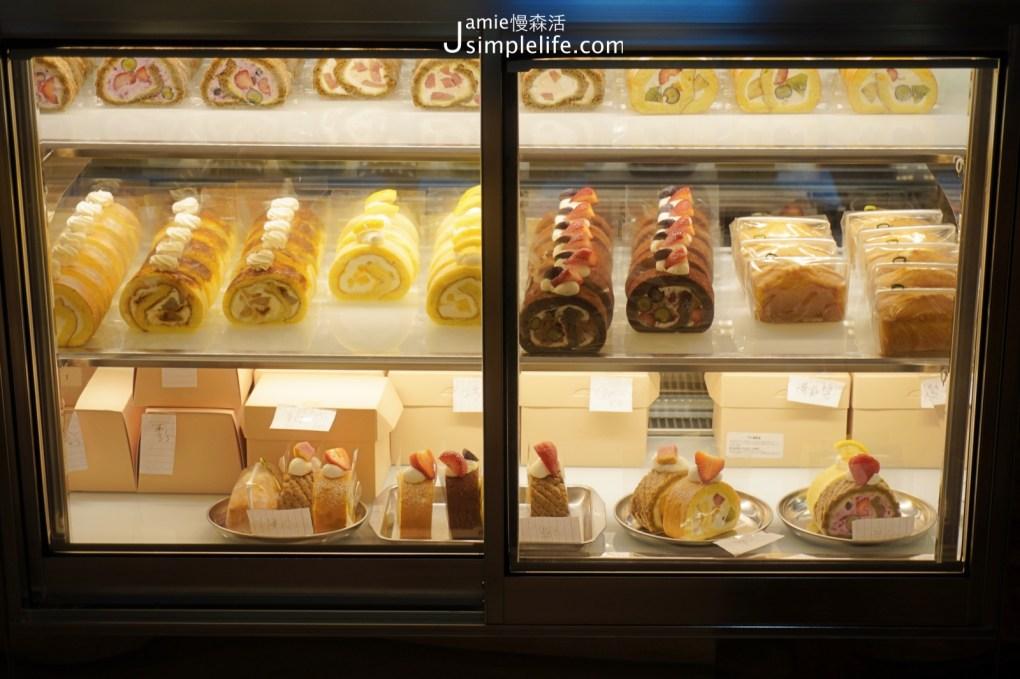 宜蘭羅東「TaSweet菓子屋」一樓點餐區蛋糕捲