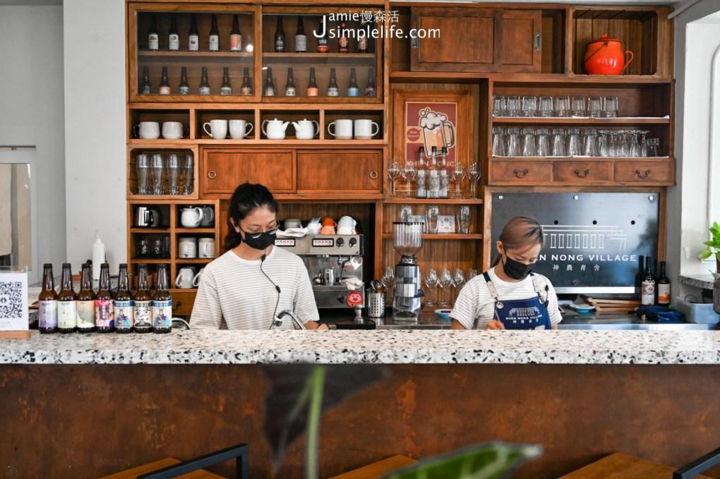 宜蘭神農青舍二樓餐廳