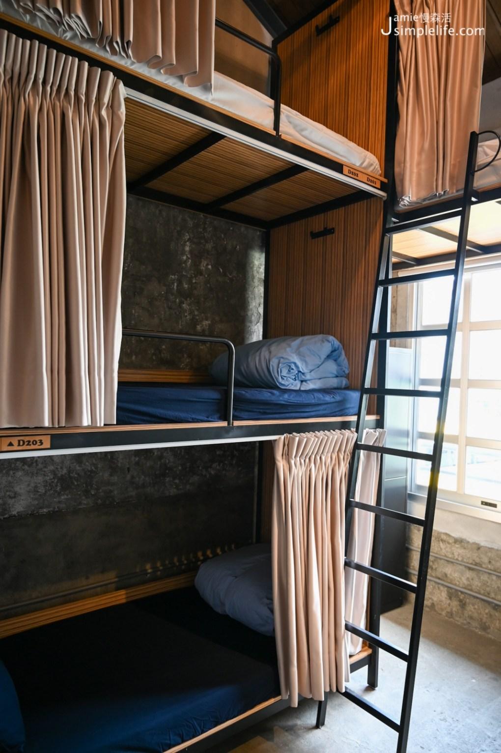 綠色環保旅店「神農青舍」房型、價格 背包客房
