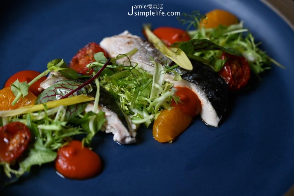 宜蘭神農青舍晚餐套餐 炭烤南方澳鯖魚沙拉