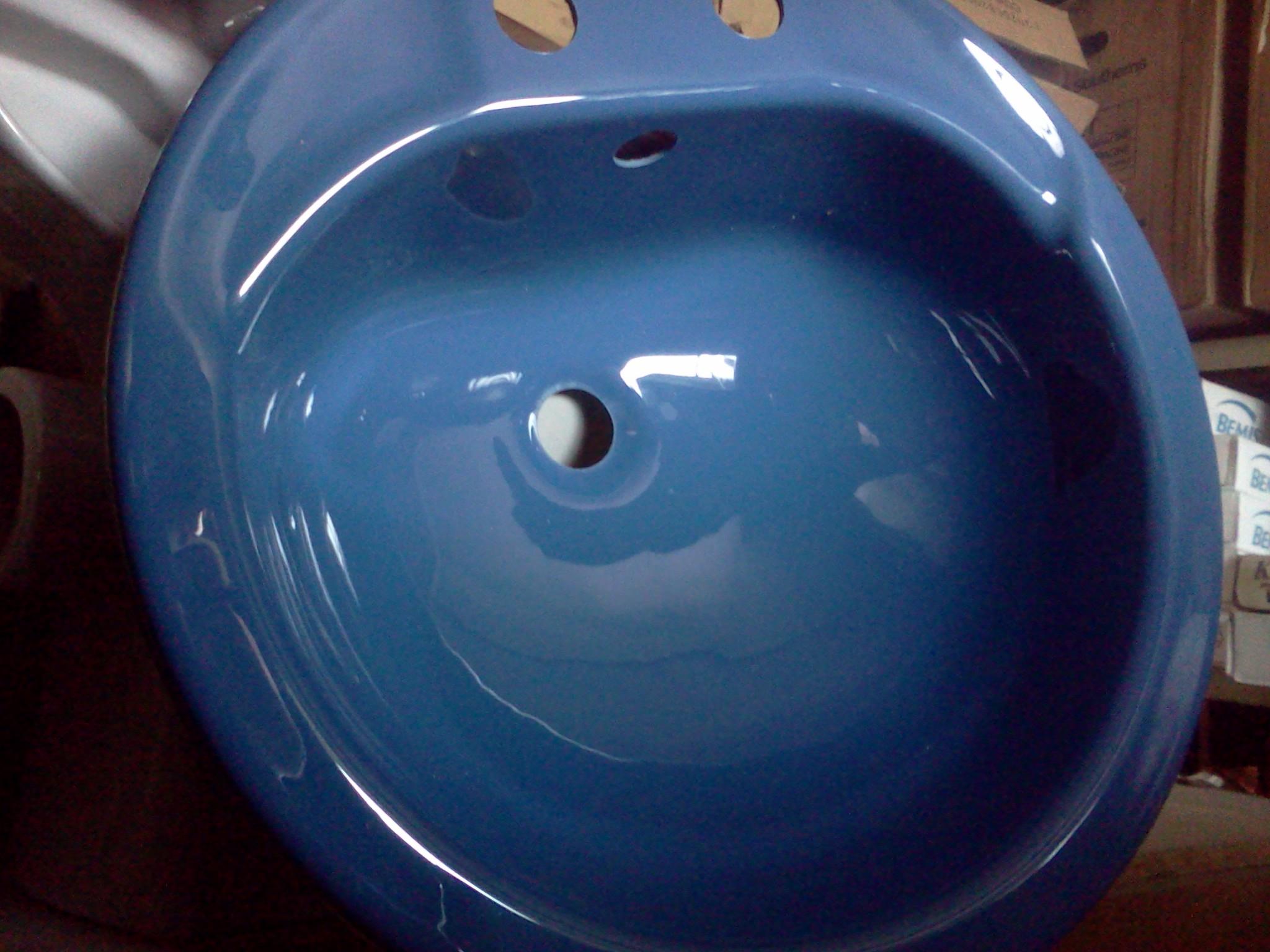 Sorrento Blue Colour Bathrooms UK Products Basins Toilets