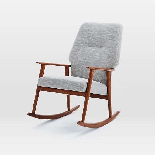 2019 Popular High Back Rocking Chairs