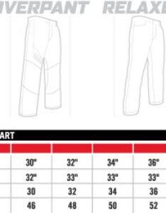 Icon sizing chart mens pants attack fit also charts rh jspowersports