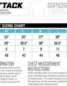 Icon sizing chart womens jacket attack fit also charts rh jspowersports