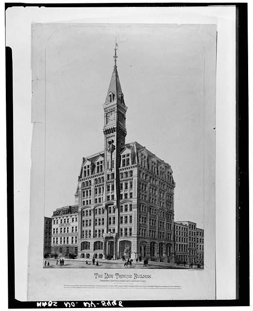 Richard Morris Hunts Tribune Building