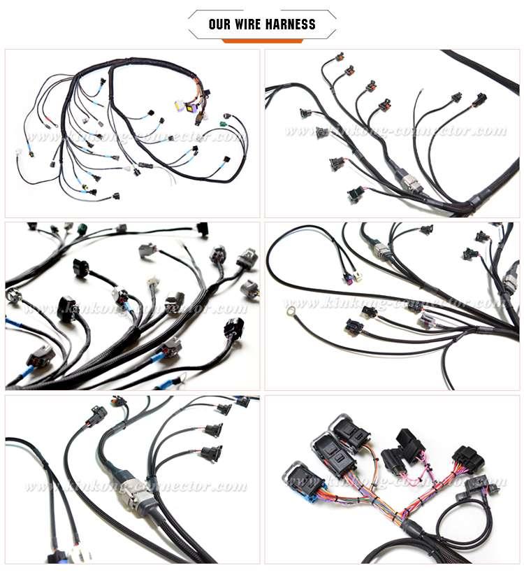 China Waterproof Automotive Kawasaki Data Wire Harness
