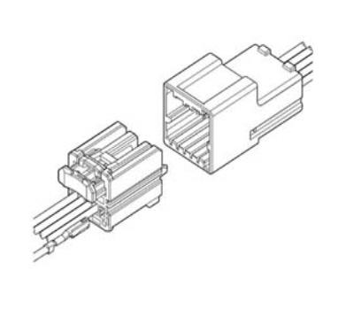 jst - jst sna connector - airbag shunt wiring diagram