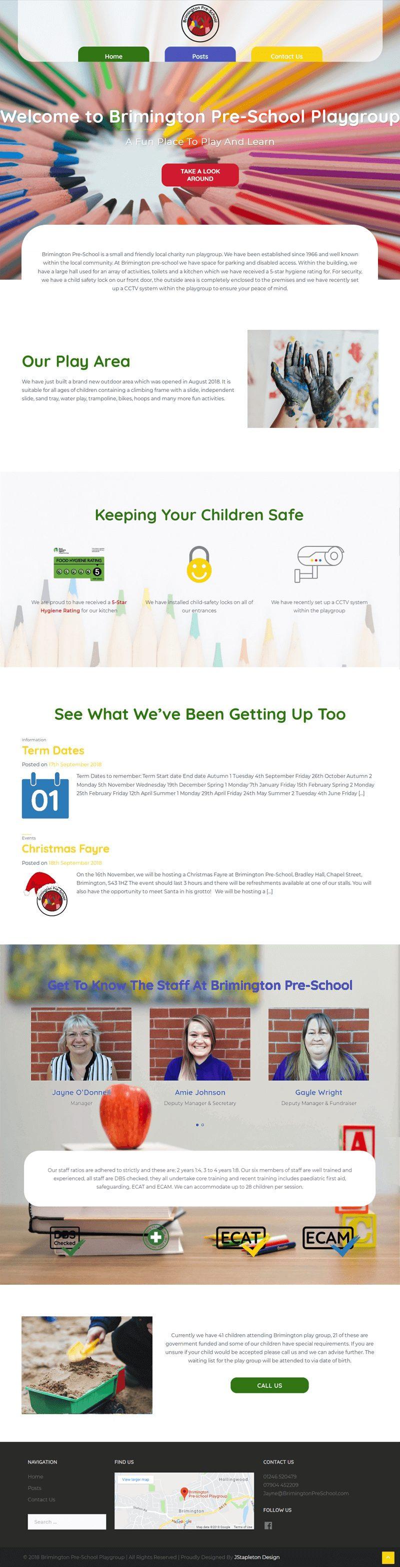 Brimington Pre-School Home Page