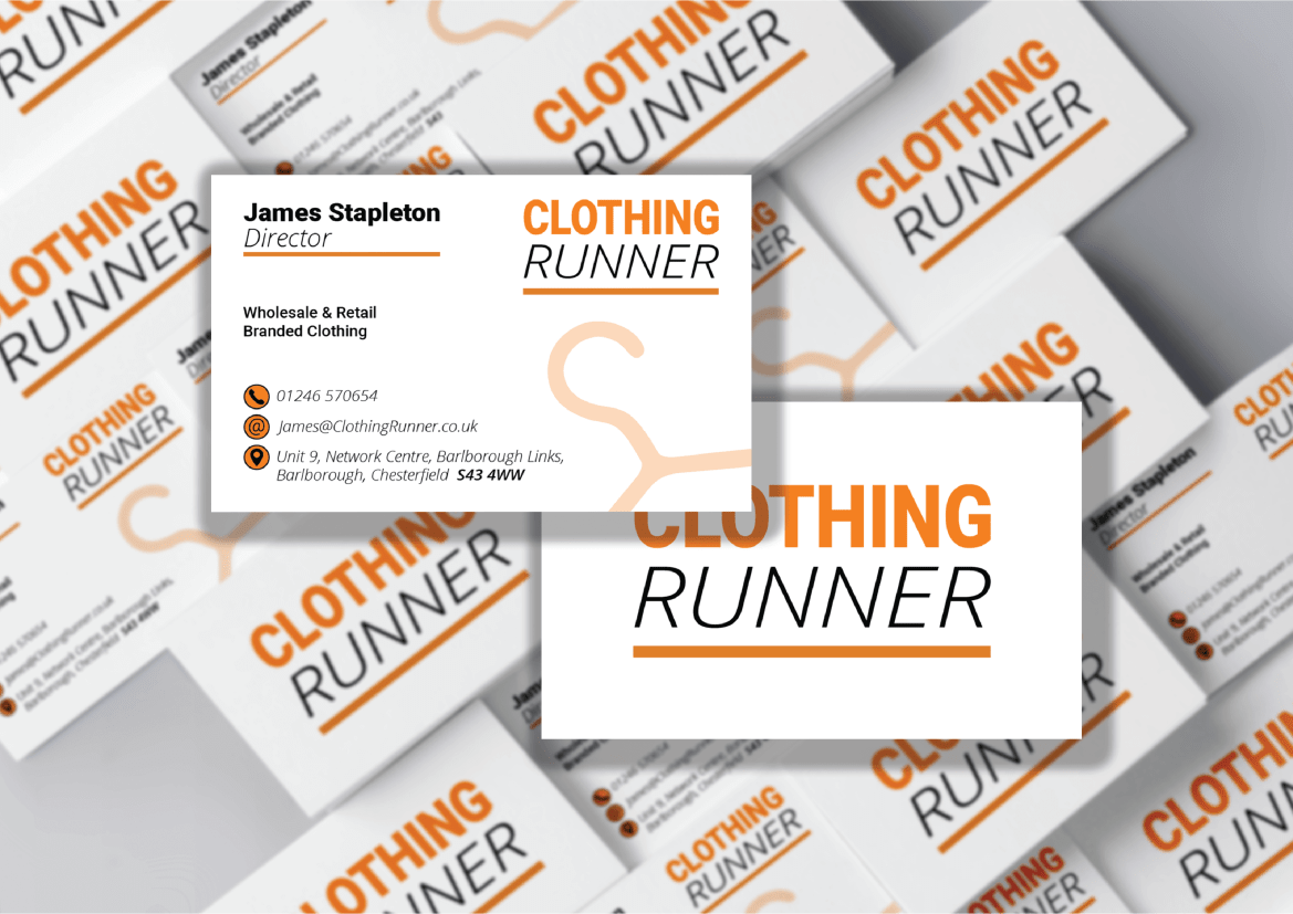 ClothingRunner Business Cards