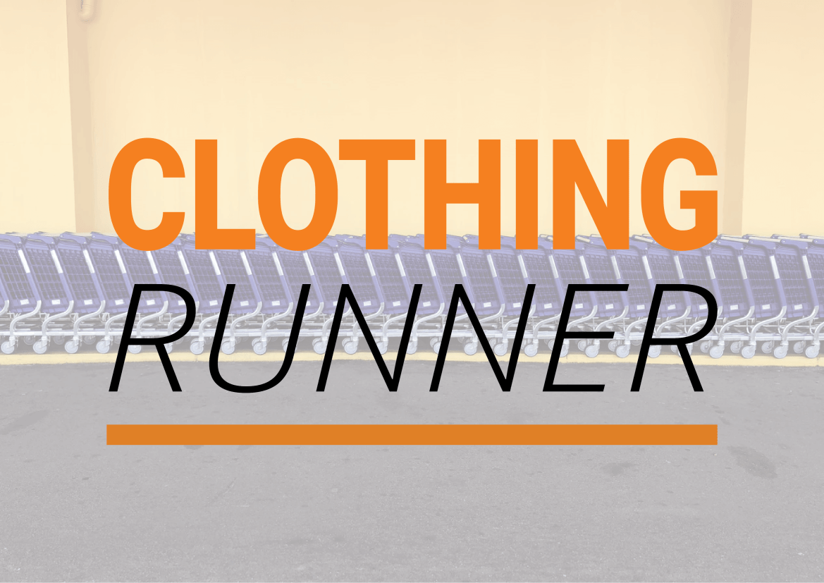 Clothing Runner Logo