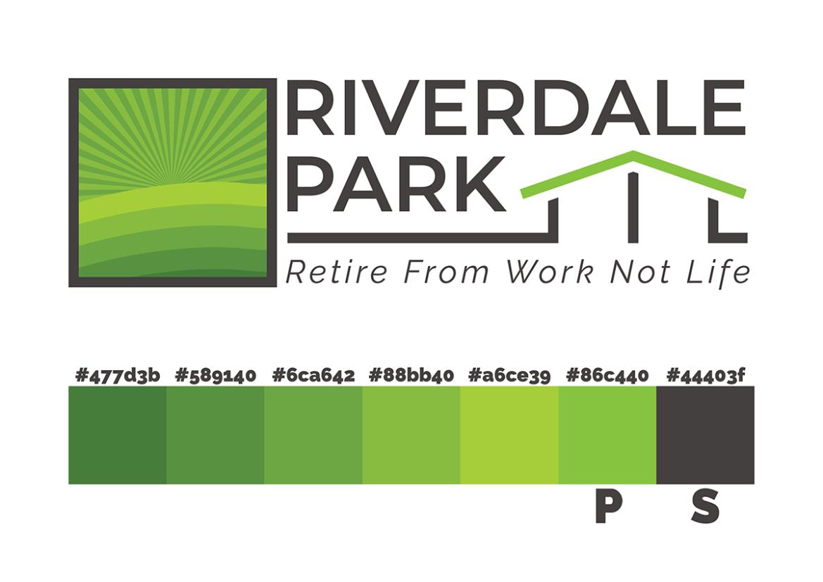 Riverdale Park Logo Colours