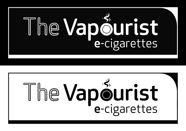 The Vapourist Logo Black And White