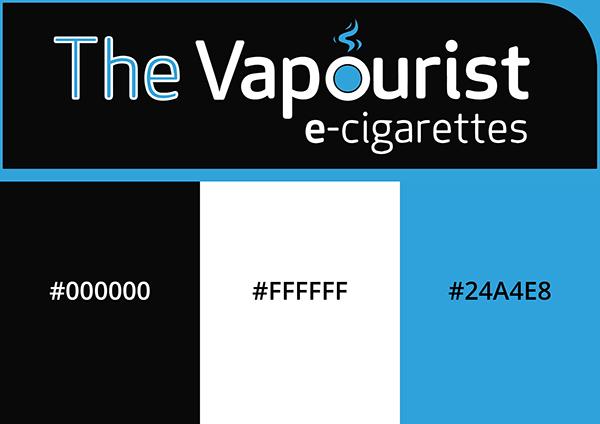 The Vapourist Logo Colours