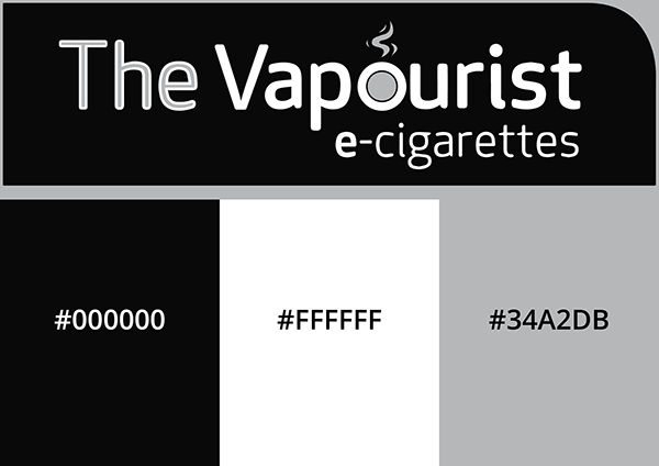 The Vapourist Logo Grayscale