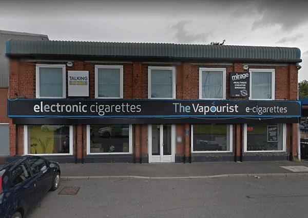 The Vapourist Shop Front