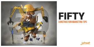 Fifty construction marketing tips for your business header