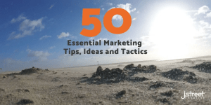 Marketing tips, ides and tactics header