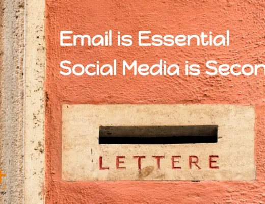 Email Subscribers is more important Construction Marketers than Social Media