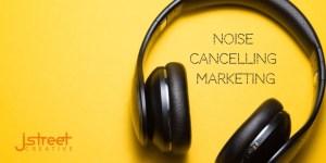 Noise cancelling marketing header image