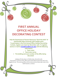 Holiday Decorating Contest Flyer Pictures to Pin on ...